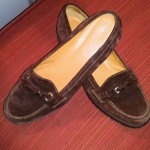 Talbots Brown Leather AOn Loafers